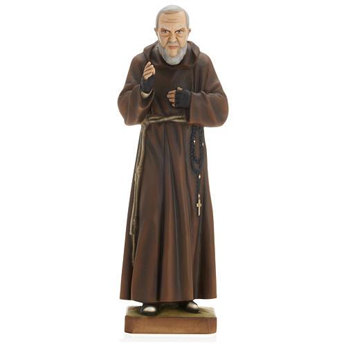 Saint Pio fibre de verre 60 cm POUR EXTÉRIEUR 1