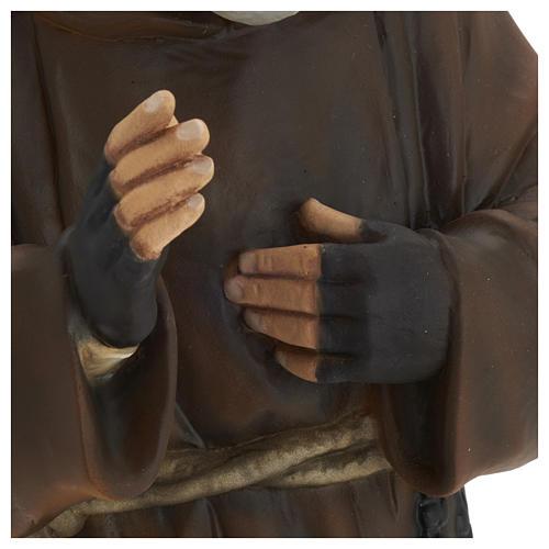 Statua Padre Pio vetroresina 60 cm PER ESTERNO 5