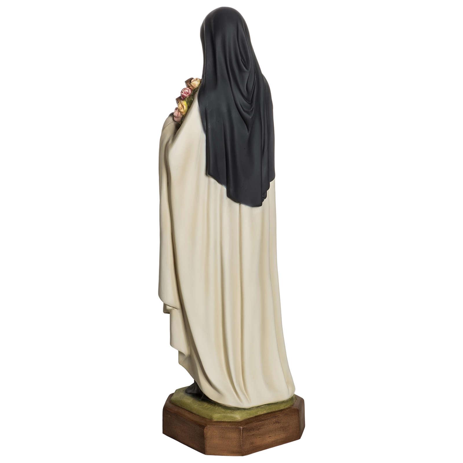 Statua Santa Teresa di Lisieux 80 cm fiberglass PER ESTERNO 4