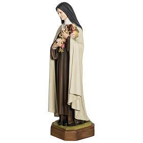 Statua Santa Teresa di Lisieux 80 cm fiberglass PER ESTERNO s3