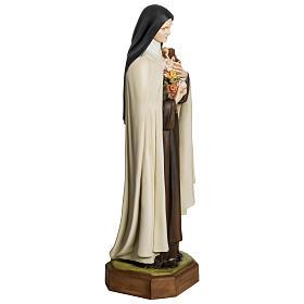 Statua Santa Teresa di Lisieux 80 cm fiberglass PER ESTERNO s4