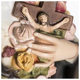 Statua Santa Teresa di Lisieux 80 cm fiberglass PER ESTERNO s6