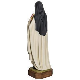 Statua Santa Teresa di Lisieux 80 cm fiberglass PER ESTERNO s8