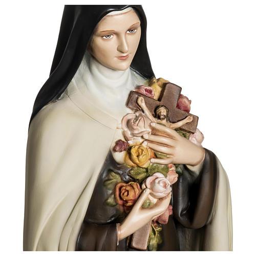 Statua Santa Teresa di Lisieux 80 cm fiberglass PER ESTERNO 2