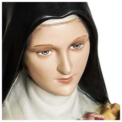 Statua Santa Teresa di Lisieux 80 cm fiberglass PER ESTERNO 5