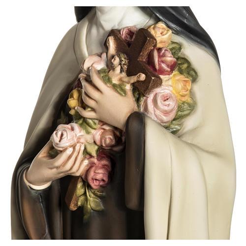 Statua Santa Teresa di Lisieux 80 cm fiberglass PER ESTERNO 7