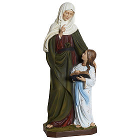Statue of St. Anne in fibreglass 80 cm for EXTERNAL USE s1