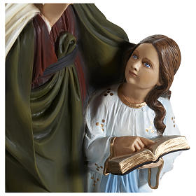 Statue of St. Anne in fibreglass 80 cm for EXTERNAL USE s2