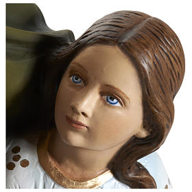 Statue of St. Anne in fibreglass 80 cm for EXTERNAL USE s3