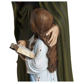 Statue of St. Anne in fibreglass 80 cm for EXTERNAL USE s5