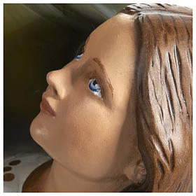 Statue of St. Anne in fibreglass 80 cm for EXTERNAL USE s6