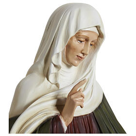 Statue of St. Anne in fibreglass 80 cm for EXTERNAL USE s10