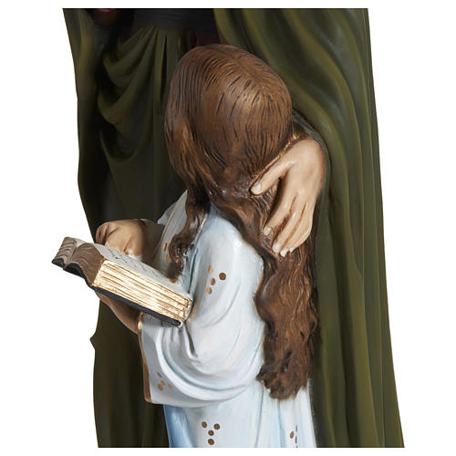 Statue of St. Anne in fibreglass 80 cm for EXTERNAL USE 5
