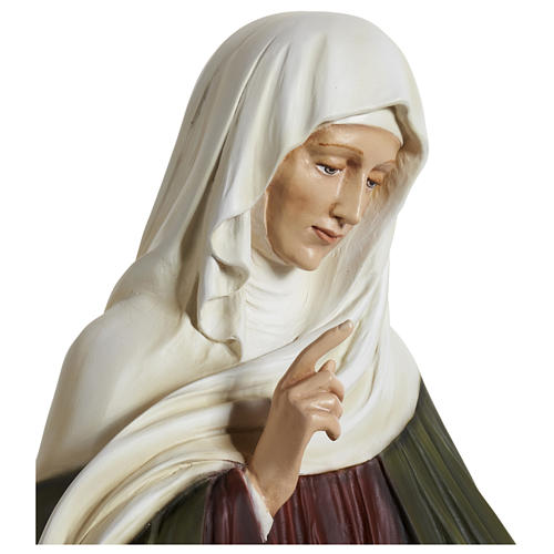 Statue of St. Anne in fibreglass 80 cm for EXTERNAL USE 10