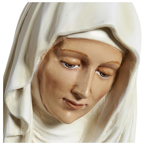 Statue of St. Anne in fibreglass 80 cm for EXTERNAL USE 11
