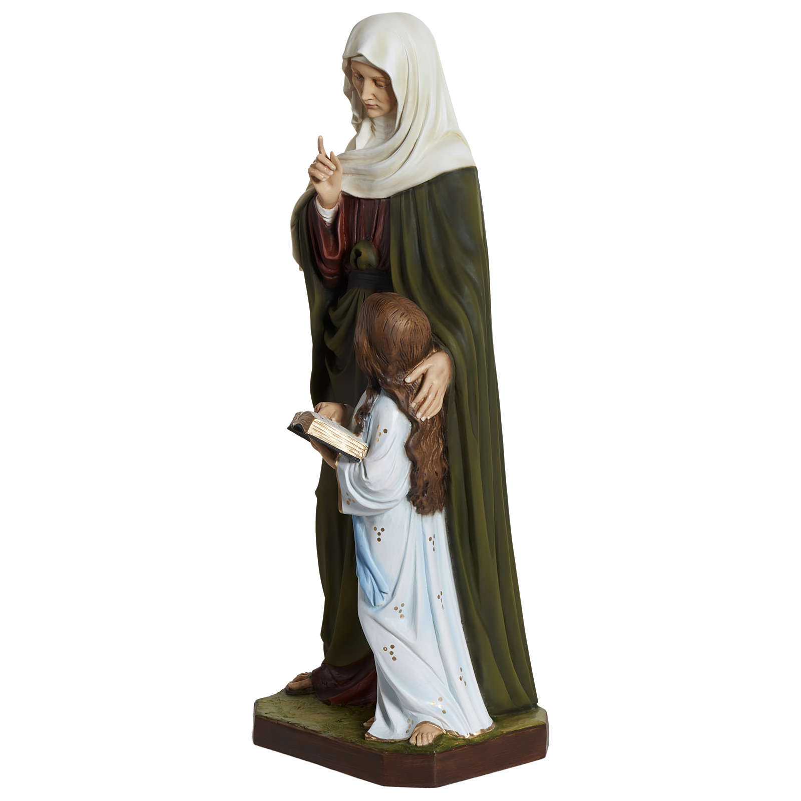 Estatua Santa Ana fiberglass 80 cm PARA EXTERIOR 4