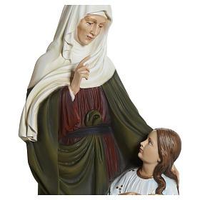 Estatua Santa Ana fiberglass 80 cm PARA EXTERIOR s9