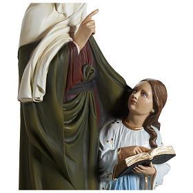Estatua Santa Ana fiberglass 80 cm PARA EXTERIOR s12