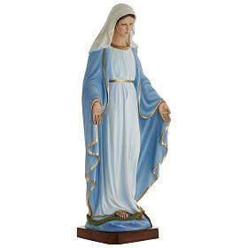 Estatua Virgen Inmaculada 100 cm fibra de vidrio PARA EXTERIOR s4
