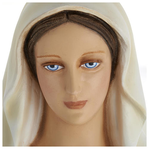 Estatua Virgen Inmaculada 100 cm fibra de vidrio PARA EXTERIOR 3