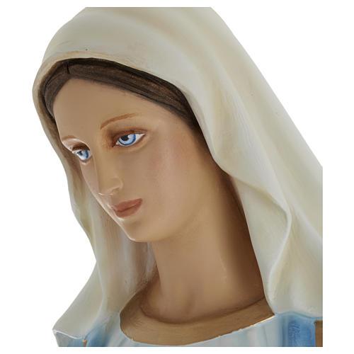 Estatua Virgen Inmaculada 100 cm fibra de vidrio PARA EXTERIOR 5