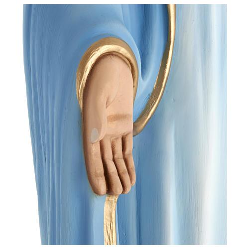 Estatua Virgen Inmaculada 100 cm fibra de vidrio PARA EXTERIOR 7
