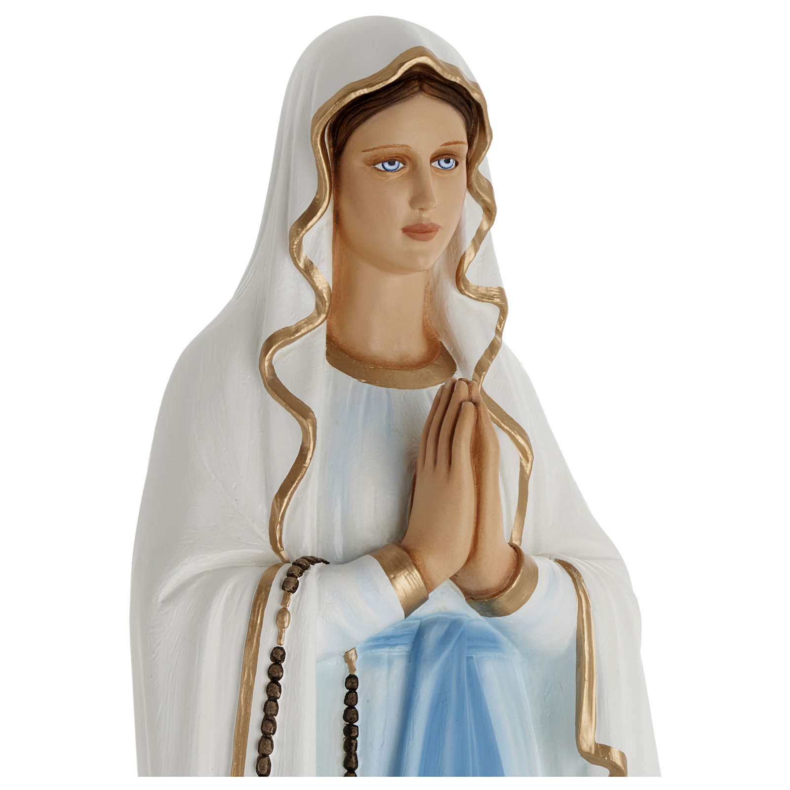Statua Madonna Lourdes 100 cm vetroresina PER ESTERNO 4