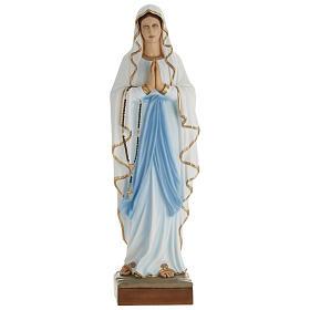Imagem Nossa Senhora Lourdes 100 cm fibra de vidro PARA EXTERIOR