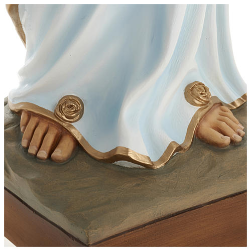 Our Lady of Lourdes Fiberglass Statue, 100 cm FOR OUTDOORS 6