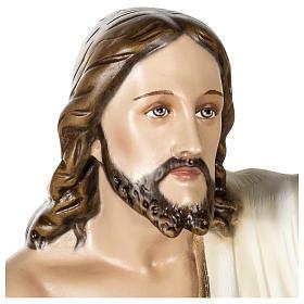 Statue Christ Ressuscité 100 cm fibre de verre POUR EXTÉRIEUR s2