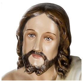 Statue Christ Ressuscité 100 cm fibre de verre POUR EXTÉRIEUR s6
