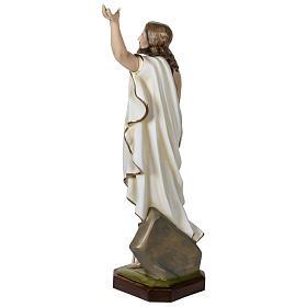 Statue Christ Ressuscité 100 cm fibre de verre POUR EXTÉRIEUR s7