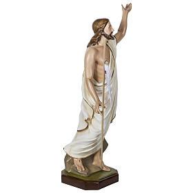 Statue Christ Ressuscité 100 cm fibre de verre POUR EXTÉRIEUR s9
