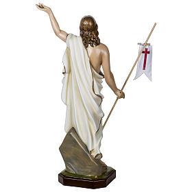 Statue Christ Ressuscité 100 cm fibre de verre POUR EXTÉRIEUR s12