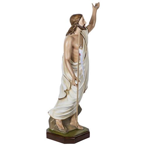 Statue Christ Ressuscité 100 cm fibre de verre POUR EXTÉRIEUR 9