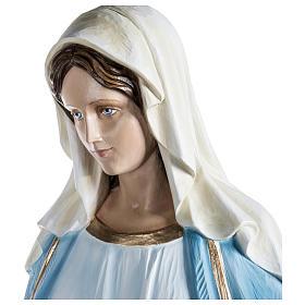 Estatua Inmaculada fibra de vidrio 100 cm PARA EXTERIOR s2