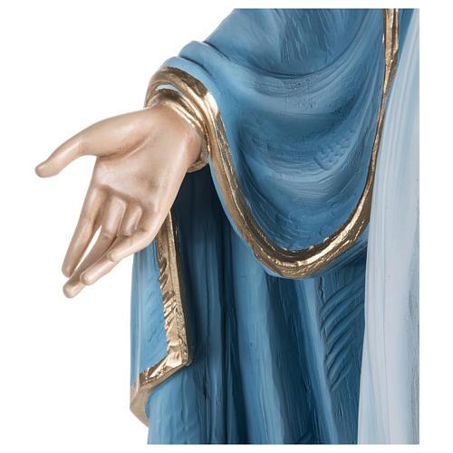 Estatua Inmaculada fibra de vidrio 100 cm PARA EXTERIOR 7