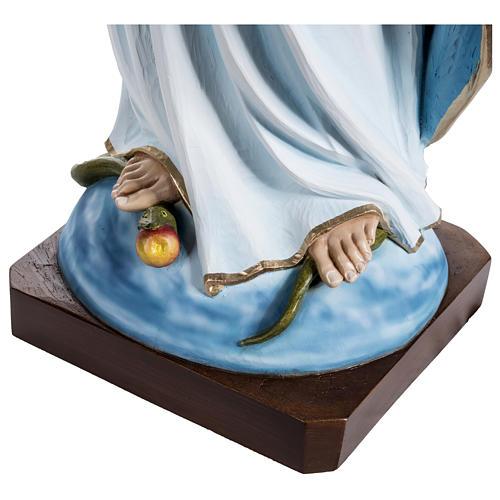 Estatua Inmaculada fibra de vidrio 100 cm PARA EXTERIOR 9