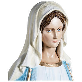 Miraculous Mary Statue 100 cm, in fiberglass FOR OUTDOORS s4