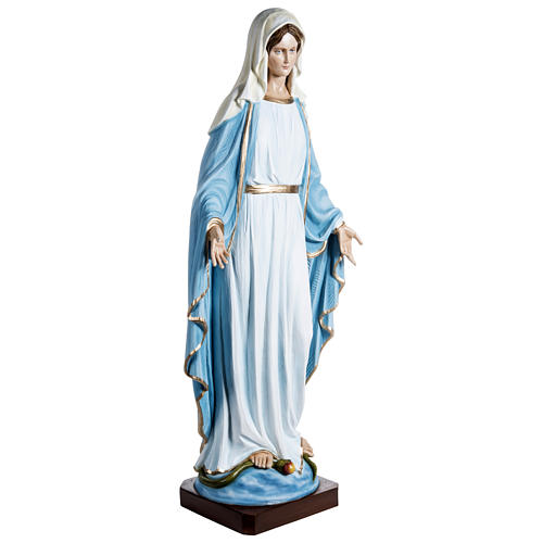Miraculous Mary Statue 100 cm, in fiberglass FOR OUTDOORS 5