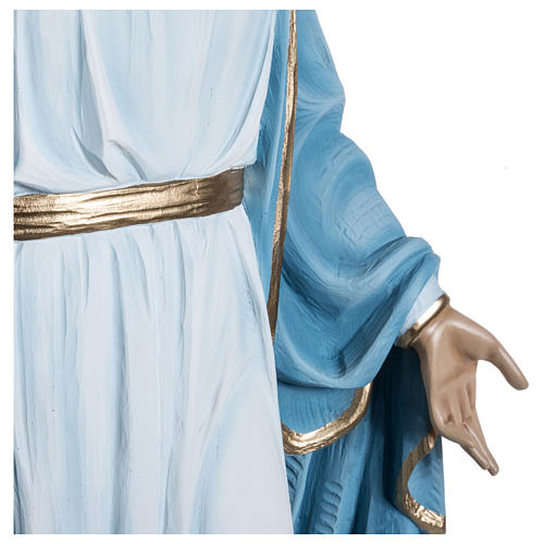 Miraculous Mary Statue 100 cm, in fiberglass FOR OUTDOORS 6