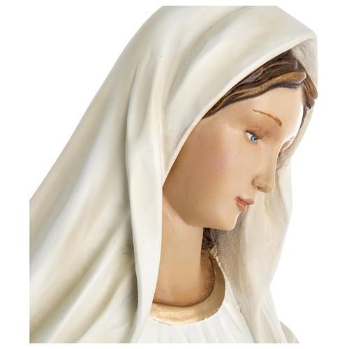 Virgen de Medjugorje fibra de vidrio 60 cm PARA EXTERIOR 5