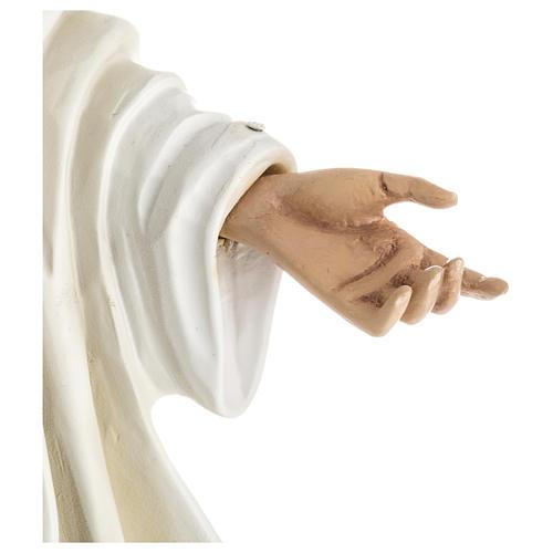 Nossa Senhora Medjugorje fibra vidro 60 cm PARA EXTERIOR acabado especial 7
