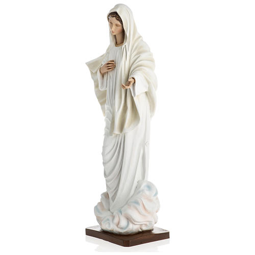 Medjugorje Statue, 60 cm in fiberglass special finish OUTDOORS 3