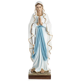 Statue of Our Lady of Lourdes in fibreglass 60 cm for EXTERNAL USE s1