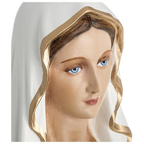Statue of Our Lady of Lourdes in fibreglass 60 cm for EXTERNAL USE s3