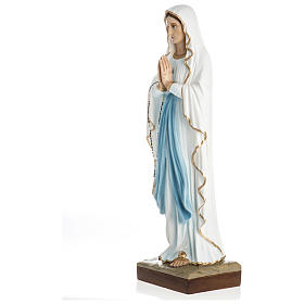 Statue of Our Lady of Lourdes in fibreglass 60 cm for EXTERNAL USE s4