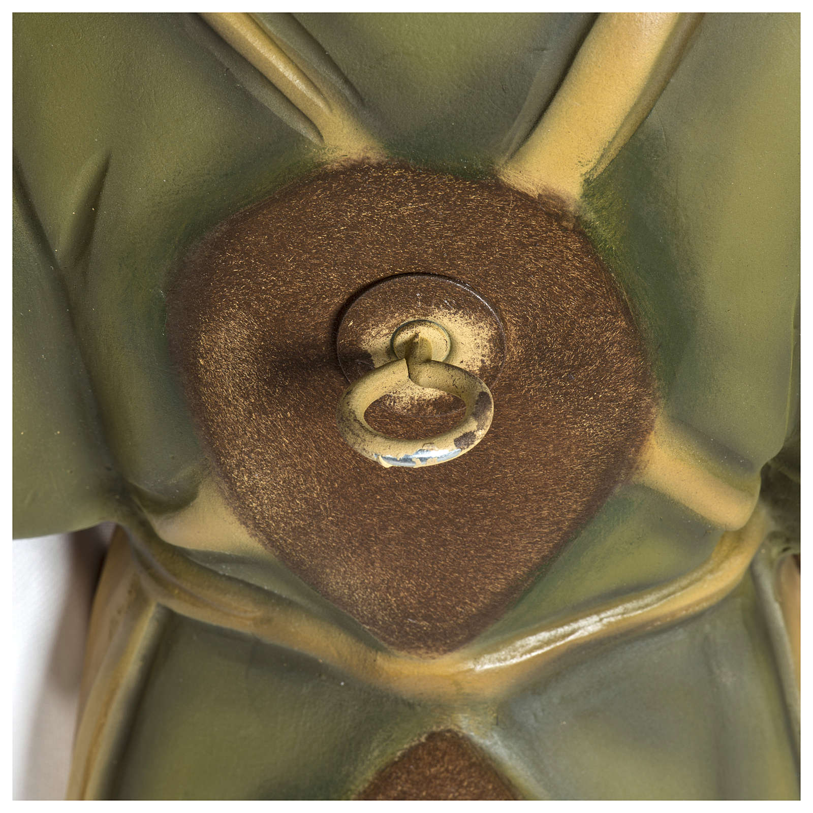 Estatua José carpintero 60 cm aplicación fibra de vidrio PARA EXTERIOR 4