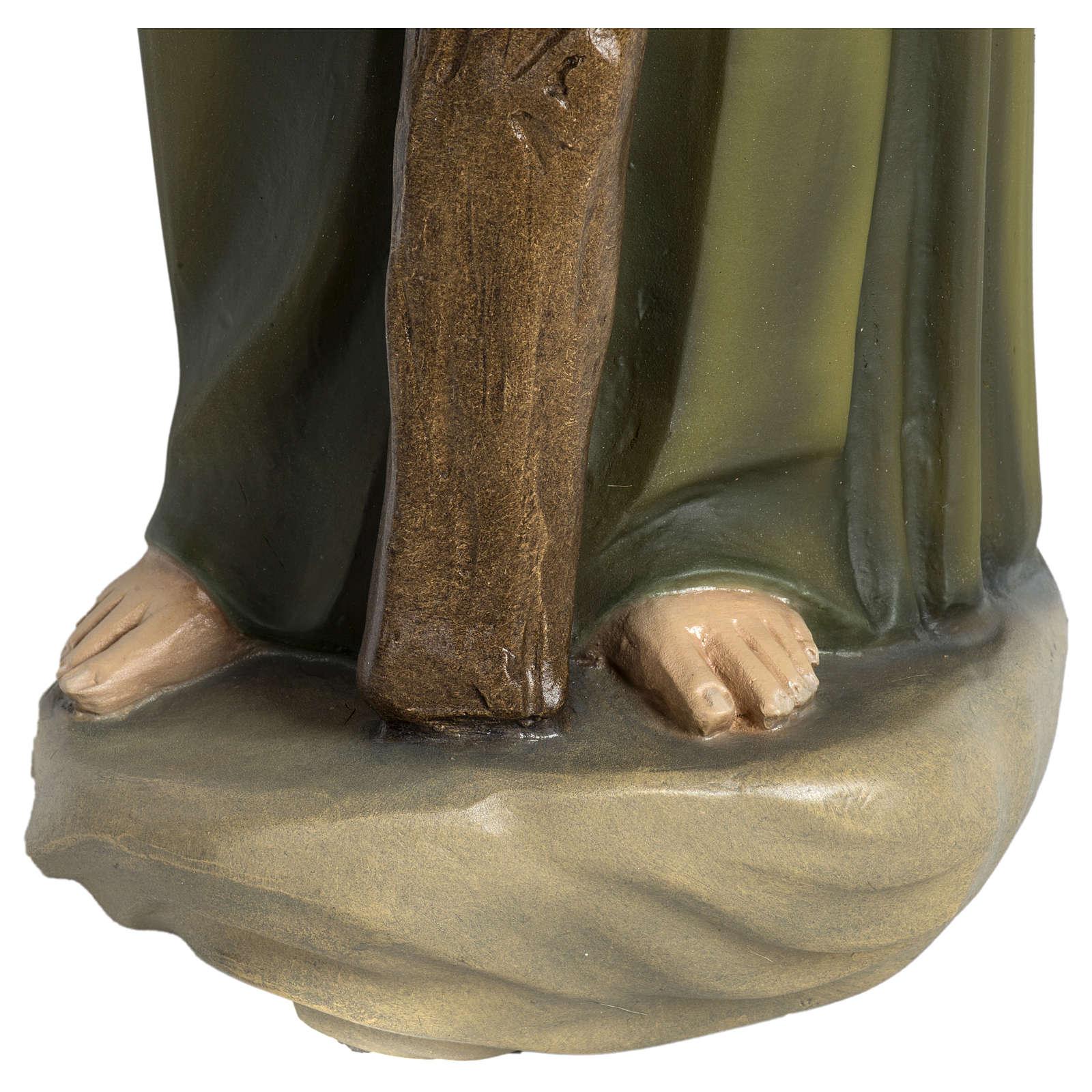 Statua Giuseppe falegname 60 cm applicazione vetroresina PER ESTERNO 4