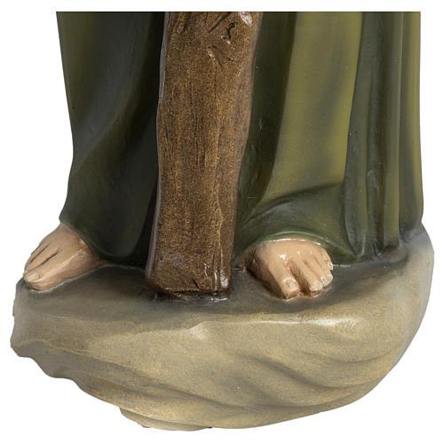 Statua Giuseppe falegname 60 cm applicazione vetroresina PER ESTERNO 7